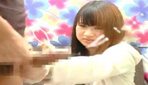 【赤面手コキ】「無理です…」嫌がる素人。断りきれず手コキ抜き!/センズリ鑑賞/素人AV出演/CFNM手コキ